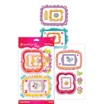 EK Success - American Girl Crafts - Pillow Stickers - Photo Frame