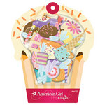 EK Success - American Girl Crafts - Stacked Stickers with Glitter Accents - Sweet