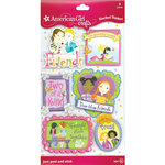 EK Success - American Girl Crafts - Stacked Stickers with Gem and Glitter Accents - Friendship