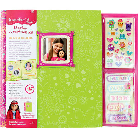 EK Success - American Girl Crafts - Starter Scrapbook Kit