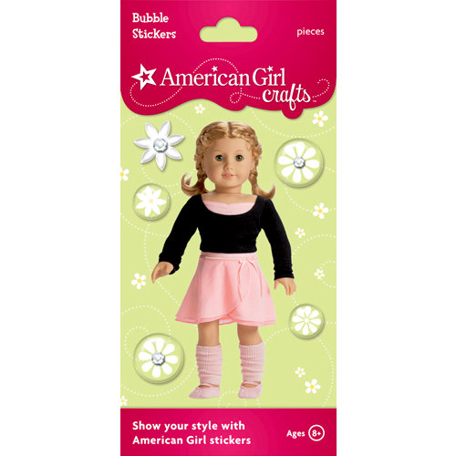 EK Success - American Girl Crafts - Bubble Stickers - Dance