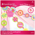 EK Success - American Girl Crafts - Garland - Flower Sticker