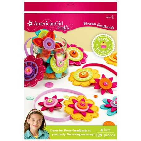 EK Success - American Girl Crafts - Party Collection - Jewelry - Activity Kit - Hair Accessory