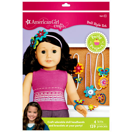 EK Success - American Girl Crafts - Party Collection - Activity Kit - Doll Accessory