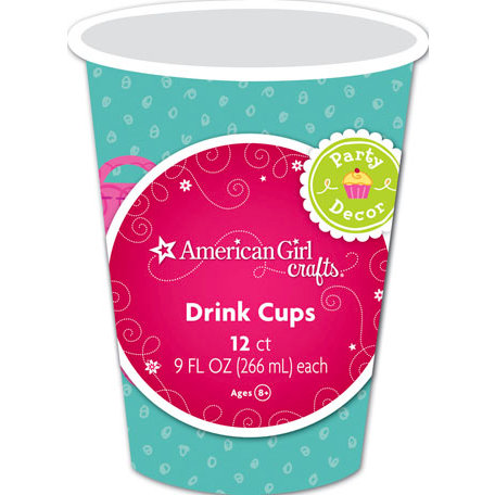 EK Success - American Girl Crafts - Party Collection - Drink Cups