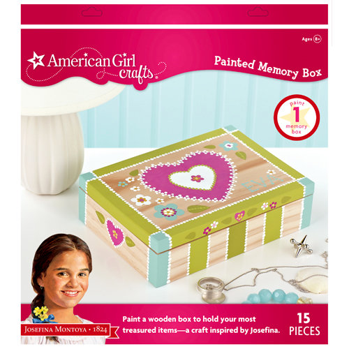 EK Success - American Girl Crafts - Painted Memory Box Kit