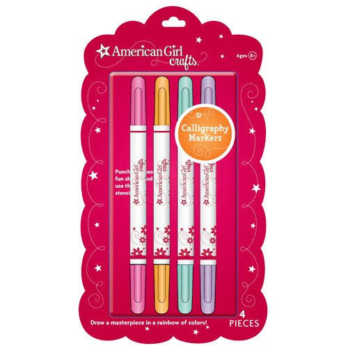 EK Success - American Girl Crafts - Fancy Lettering Markers