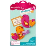 EK Success - American Girl Crafts - Sew and Shares Collection - Fabric Craft Kit - Birdies