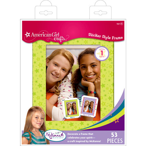 EK Success - American Girl Crafts - Frame Kit