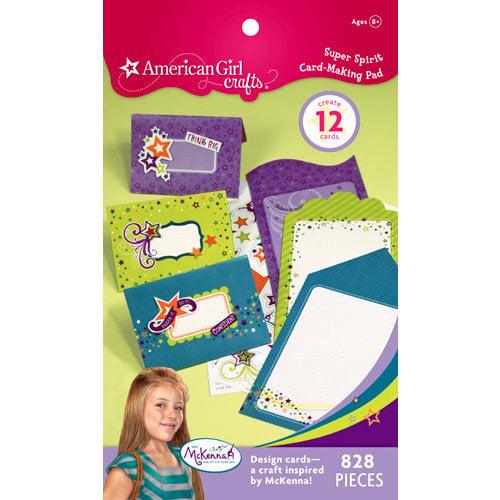 EK Success - American Girl Crafts - Card Making Pad - Super Spirit