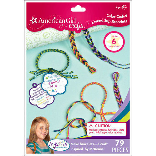 EK Success - American Girl Crafts - Jewelry - Friendship Bracelet Kit