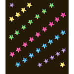 EK Success - Jolee's Boutique - All That Bling Collection - 3 Dimensional Stickers - Multi Stars, CLEARANCE