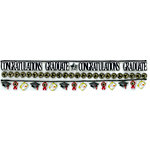 EK Success - Jolee's Boutique - 3 Dimensional Stickers with Foil and Glitter Accents - Border Graduation