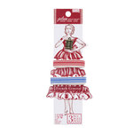 EK Success - Jolee's Boutique - French General Collection - Ribbon - Stripe