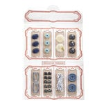 EK Success - Jolee's Boutique - French General Collection - Notions Kit - Blue