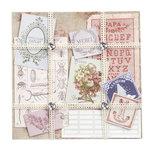 EK Success - Jolee's Boutique - French General Collection - Ephemera Floral Paper Kit