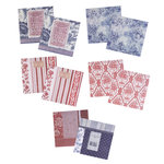EK Success - Jolee's Boutique - French General Collection - 12 x 12 Self-Adhesive Fabric Sheets