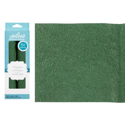 EK Success - Jolee's Boutique - Adhesive Glitter Paper - Green