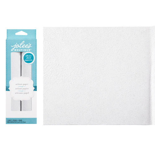 EK Success - Jolee's Boutique - Adhesive Glitter Paper - White