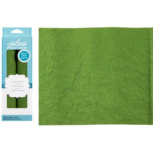 EK Success - Jolee's Boutique - Adhesive Crinkle Paper - Green