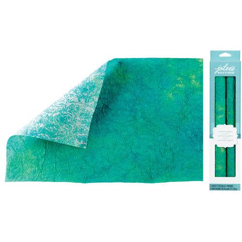 EK Success - Jolee's Boutique - Hand Dyed Paper - Light Green