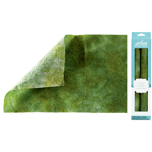 EK Success - Jolee's Boutique - Hand Dyed Paper - Green