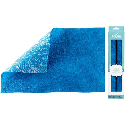 EK Success - Jolee's Boutique - Hand Dyed Paper - Blue