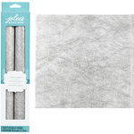 EK Success - Jolee's Boutique - Metallic Fiber Paper - Silver