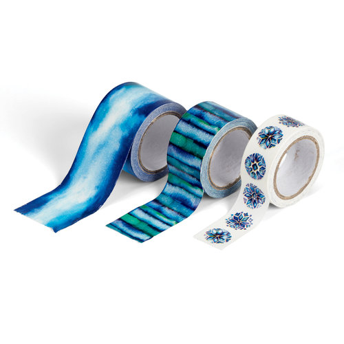 EK Success - Jolee's Boutique - Paper Tape Set - Cool Blues