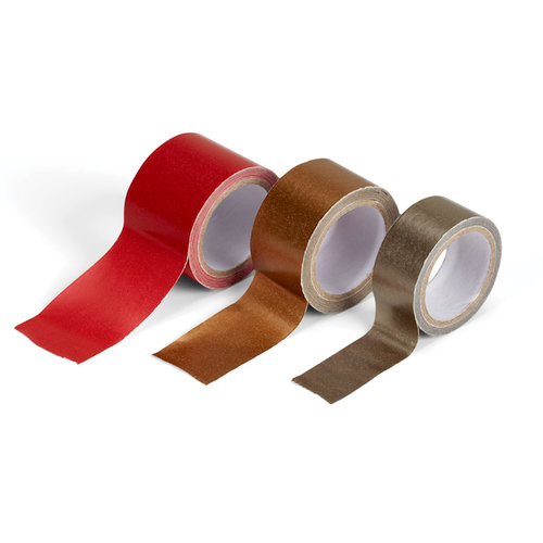 EK Success - Jolee's Boutique - Paper Tape - Red and Golds
