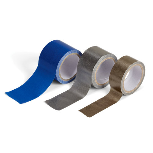 EK Success - Jolee's Boutique - Paper Tape - Blue and Silvers