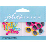 EK Success - Jolee's by You Redux - 3 Dimensional Embellishments with Epoxy and Gem Accents - Flipflops and Sunglasses