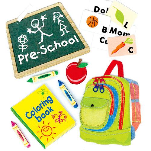 EK Success - Jolee's Boutique - 3 Dimensional Stickers - Preschool