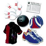 EK Success - Jolee's Boutique - 3 Dimensional Stickers - Bowling