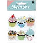 EK Success - Jolee's Boutique - 3 Dimensional Stickers - Vellum Cupcakes