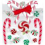 EK Success - Jolee's Boutique - Christmas - 3 Dimensional Stickers - Christmas Candies