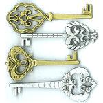 EK Success - Jolee's Boutique - Parcel Refresh Collection - 3 Dimensional Stickers with Gem Accents - Victorian Keys