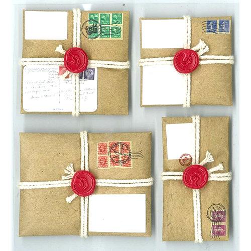 EK Success - Jolee's Boutique - Parcel Refresh Collection - 3 Dimensional Stickers - Parcel Repeats