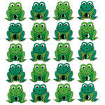 EK Success - Jolee's Boutique - 3 Dimensional Stickers with Gem and Glitter Accents - Frog Repeats