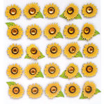 EK Success - Jolee's Boutique - 3 Dimensional Stickers with Gem and Glitter Accents - Sunflower Repeats