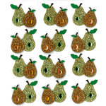 EK Success - Jolee's Boutique - 3 Dimensional Stickers with Gem and Glitter Accents - Perfect Pear Repeats