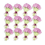 EK Success - Jolee's Boutique - 3 Dimensional Stickers with Gem and Glitter Accents - Tulips Repeats