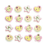EK Success - Jolee's Boutique - 3 Dimensional Stickers with Gem and Glitter Accents - Buttons Repeats