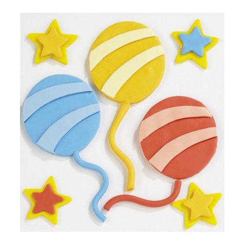 EK Success - Jolee's Boutique - Confections Collection - 3 Dimensional Stickers - Fondant Balloon