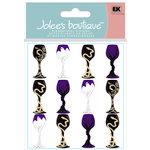 EK Success - Jolee's Boutique - Halloween Collection - 3 Dimensional Stickers - Halloween Goblets