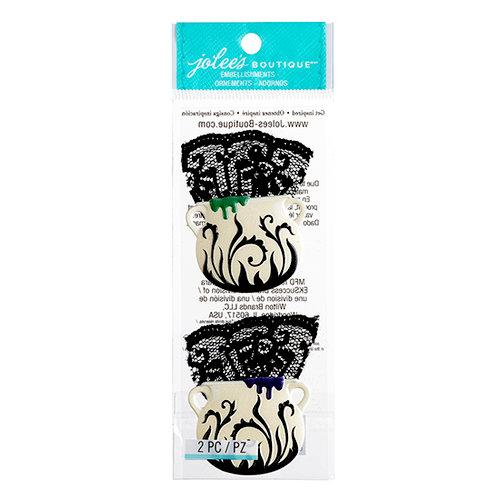 EK Success - Jolee's Boutique - Halloween 2013 Collection - 3D Stickers - Cauldrons