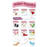EK Success - Jolee's Boutique - 3 Dimensional Stickers - 9 Months Pregnancy