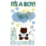 EK Success - Jolee's Boutique - 3 Dimensional Stickers with Epoxy and Glitter Accents - It's a Boy