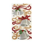 EK Success - Jolee's Boutique - Christmas - 3 Dimensional Stickers with Gem and Glitter Accents - Flourishes and Silver Bells