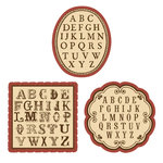 EK Success - Jolee's Boutique - French General Collection - Alphabet Pack